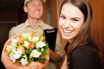 Arrangement floral commandé et livré !